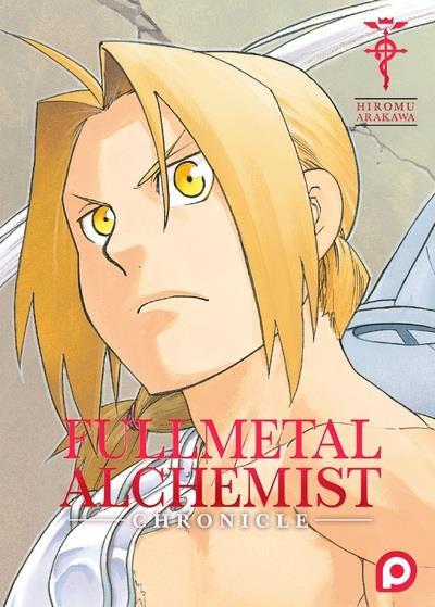 Couverture Fullmetal alchemist - Chronicle
