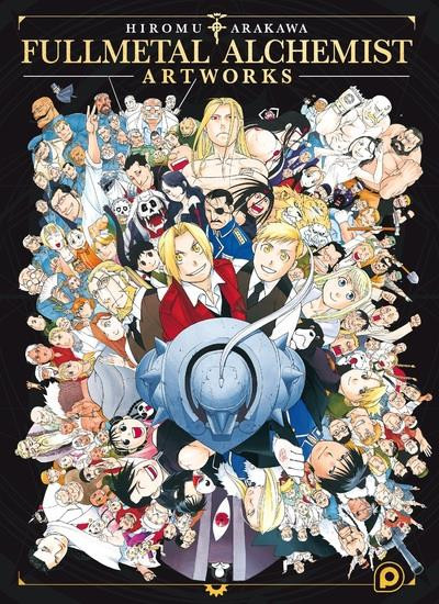 Couverture Fullmetal alchemist artworks