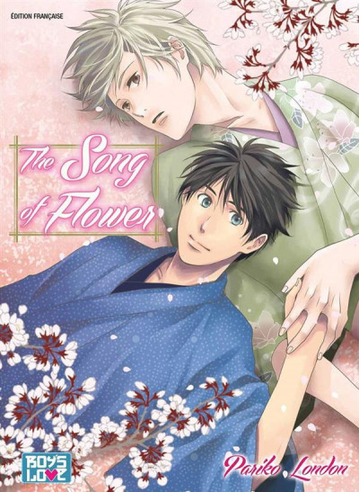 Couverture The song of flower