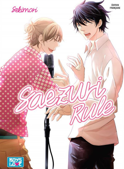Couverture Saezuri rule
