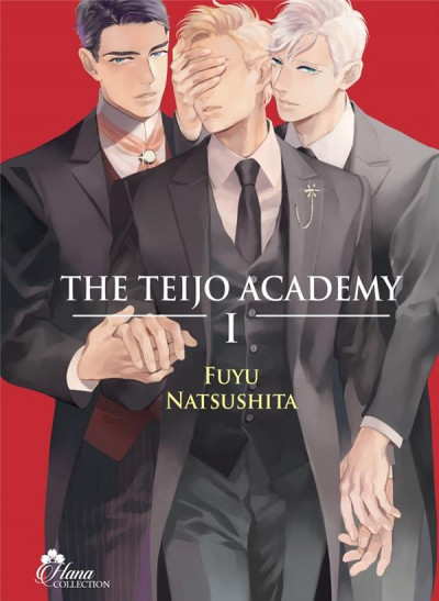 Couverture The Teijo Academy tome 1
