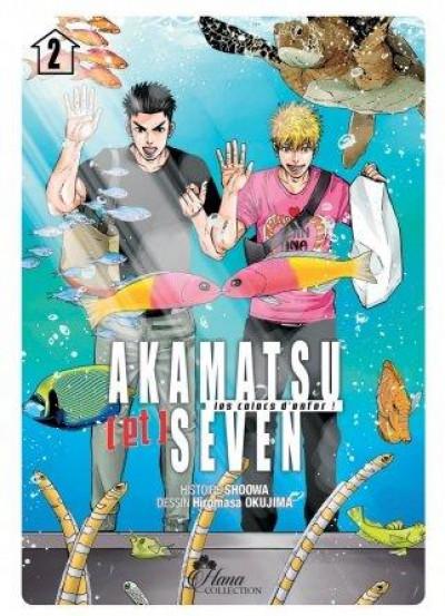 Couverture Akamatsu & Seven tome 2