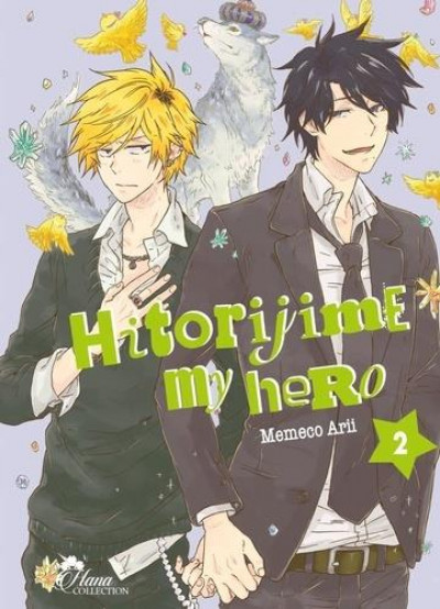 Couverture Hitorijime my hero tome 2