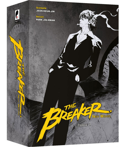 Couverture The breaker - new waves - coffret collector tomes 11 à 20