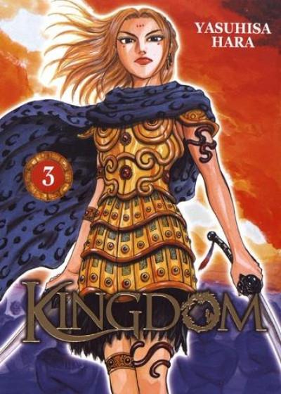 Couverture Kingdom tome 3