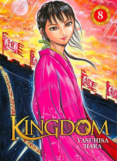 Couverture Kingdom tome 8