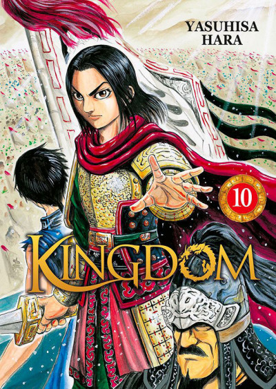 Couverture Kingdom tome 10