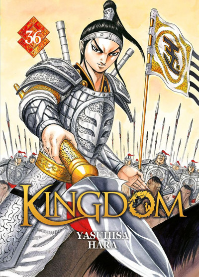 Couverture Kingdom tome 36
