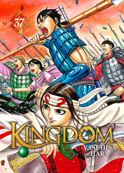 Couverture Kingdom tome 37