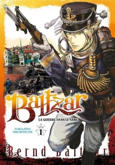 Couverture Baltzar - la guerre dans le sang tome 1