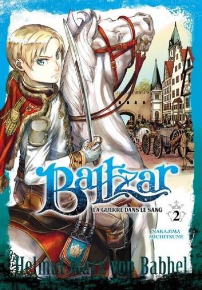 Couverture Baltzar - la guerre dans le sang tome 2