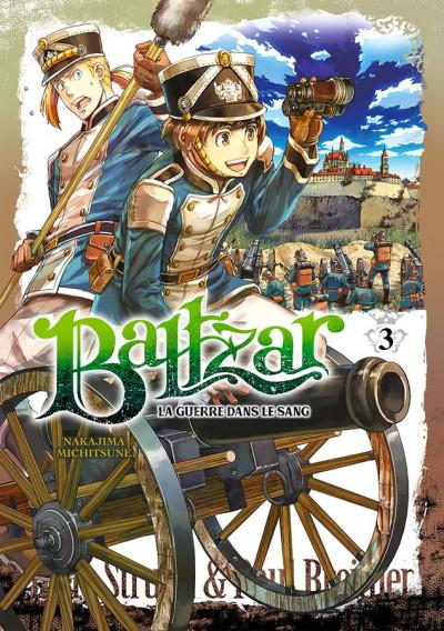 Couverture Baltzar - la guerre dans le sang tome 3