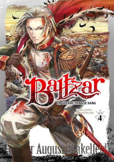 Couverture Baltzar - la guerre dans le sang tome 4