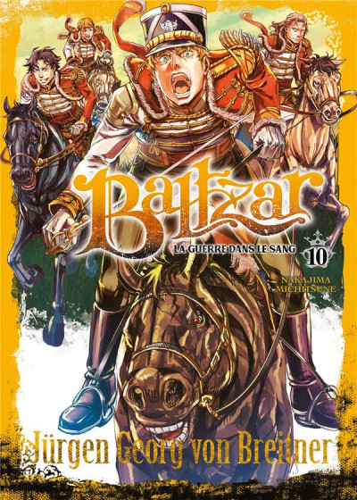 Couverture Baltzar - la guerre dans le sang tome 10