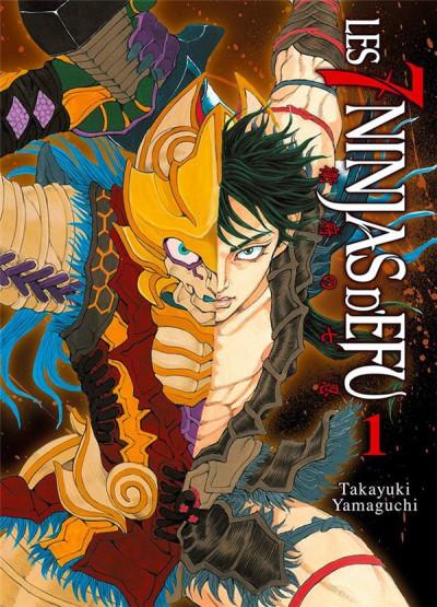 Couverture Les 7 ninjas d'Efu tome 1