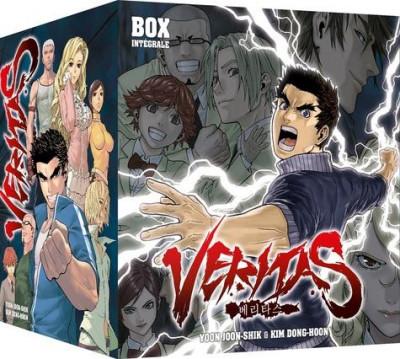 Couverture Veritas - coffret tomes 1 à 10
