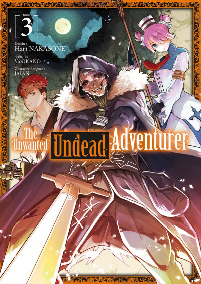 Couverture The unwanted undead adventurer tome 3