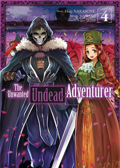 Couverture The unwanted undead adventurer tome 4