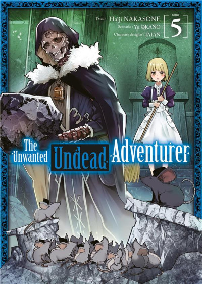 Couverture The unwanted undead adventurer tome 5