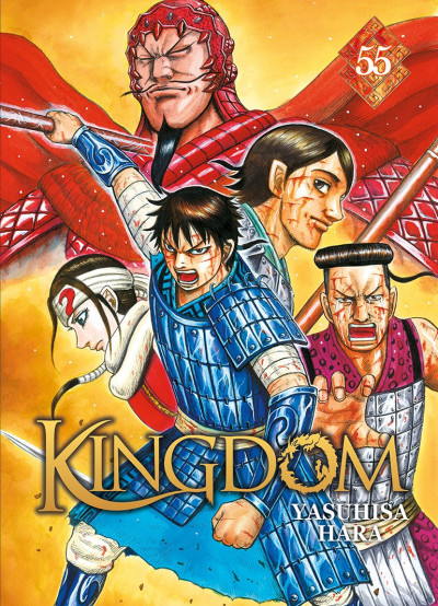 Couverture Kingdom tome 55