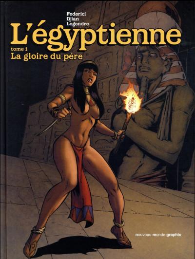 Couverture L'égyptienne tome 1