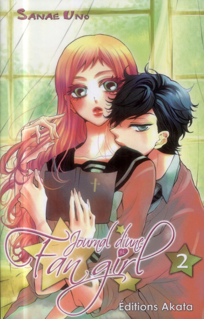 Couverture Journal d'une fangirl Tome 2