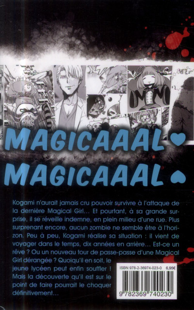 Dos Magical girl of the end tome 3