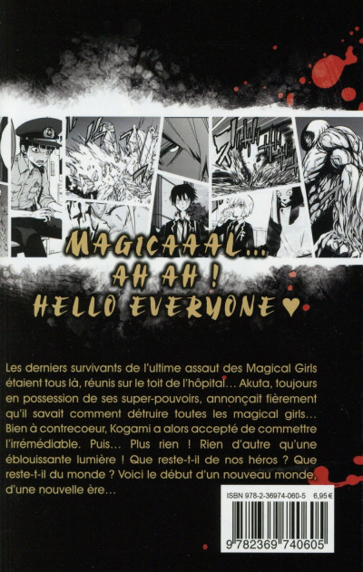 Dos Magical girl of the end tome 6