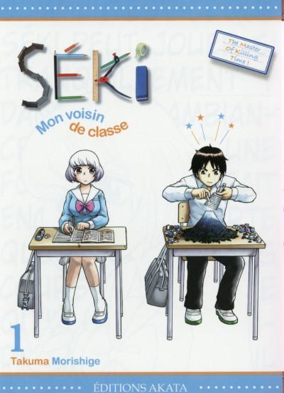 Couverture Seki mon voisin de classe tome 1