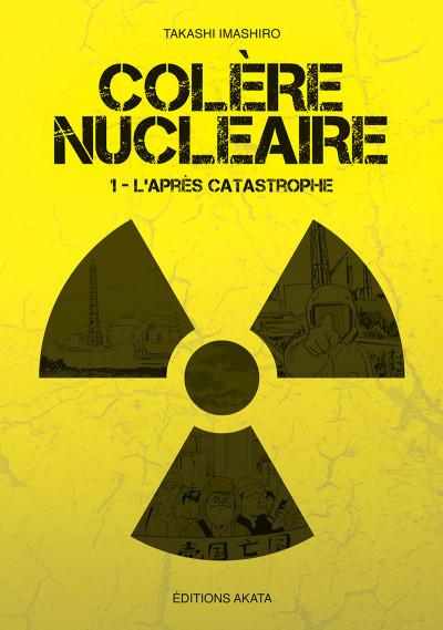 Couverture Colère nucléaire tome 1