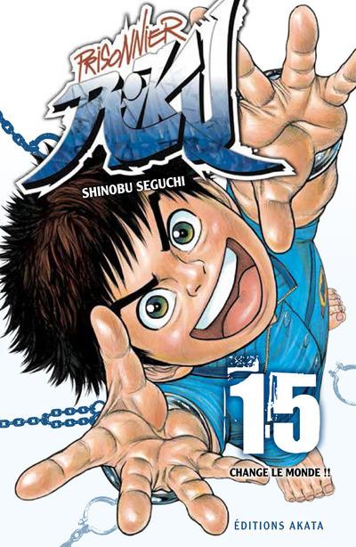 Couverture Prisonnier Riku tome 15