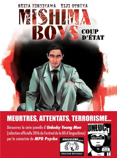 Couverture Mishima boys, coup d'état tome 1