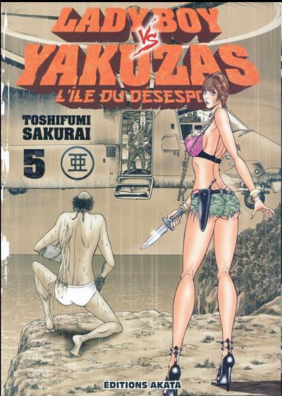 Couverture Ladyboy VS yakuzas tome 5