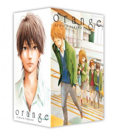 Couverture Orange - coffret