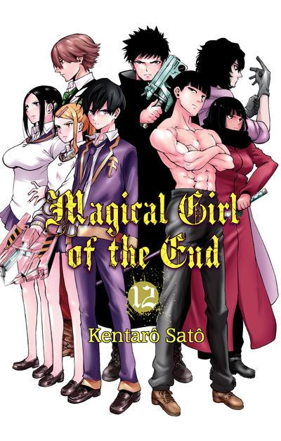 Couverture Magical girl of the end tome 12 - collector