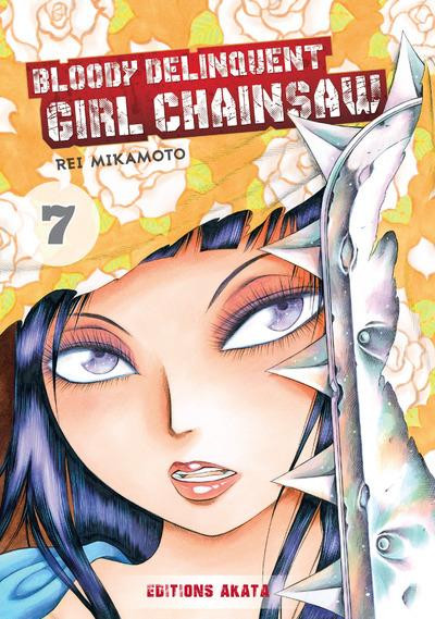 Couverture Bloody delinquent girl chainsaw tome 7