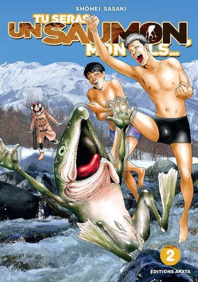 Couverture Tu seras un saumon, mon fils tome 2