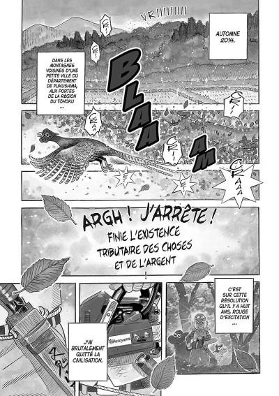 Page 4 Ma vie dans les bois tome 1