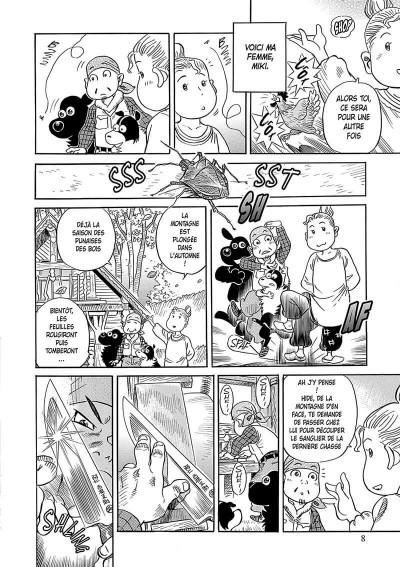 Page 9 Ma vie dans les bois tome 1