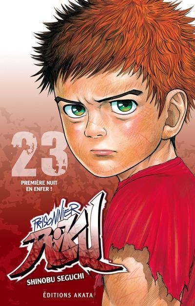Couverture Prisonnier Riku tome 23
