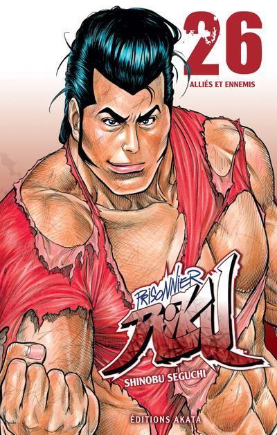 Couverture Prisonnier Riku tome 26