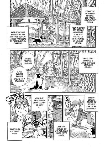 Page 6 Ma vie dans les bois tome 4