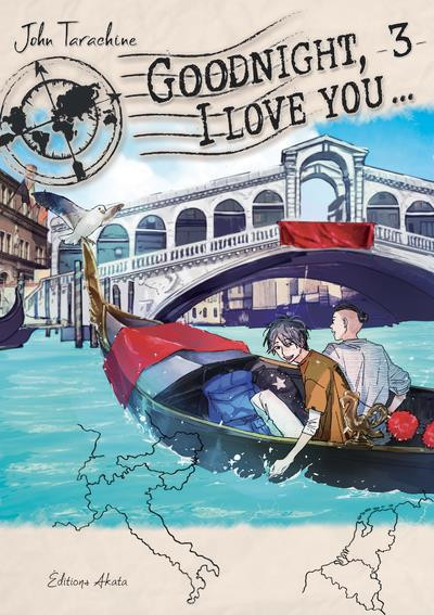 Couverture Goodnight, I love you... tome 3