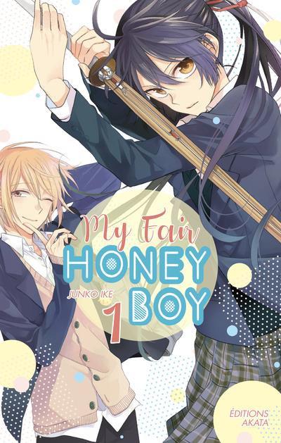 Couverture My fair honey boy tome 1