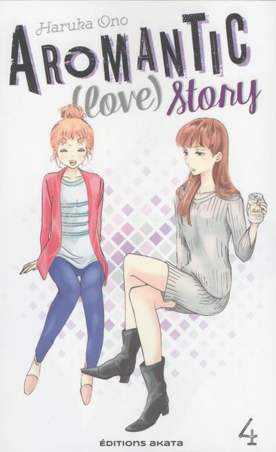 Couverture Aromantic (love) story tome 4