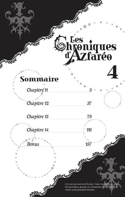 Page 3 Les chroniques d'Azfaréo tome 4
