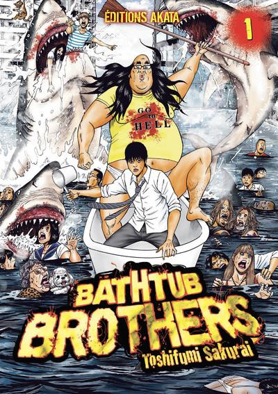 Couverture Bathtub brothers tome 1