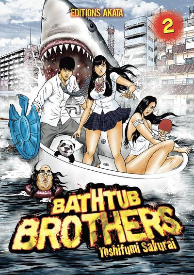 Couverture Bathtub brothers tome 2