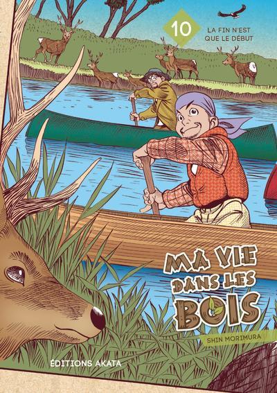 Couverture Ma vie dans les bois tome 10