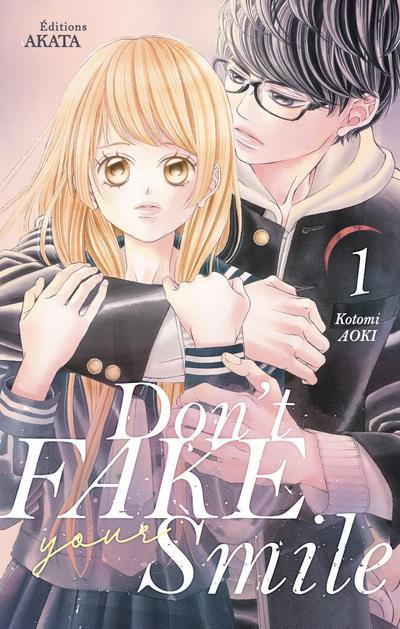 Couverture Don't fake your smile tome 1